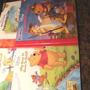 Lot of 4 Winnie the Pooh Books